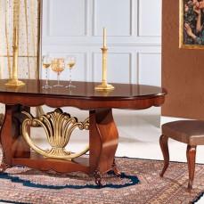 Τραπέζι σε σχήμα οβάλ.