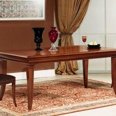 Νεοκλασικό τραπέζι από σκελετό οξιάς με επένδυση καρυδιάς.